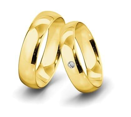 Trauring-Gelbgold-6mm-C-mit-diamant-004ct-poliert