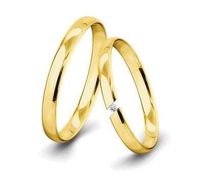 Spannringe-Gelbgold-3mm-C-mit-Diamant-0015ct-poliert