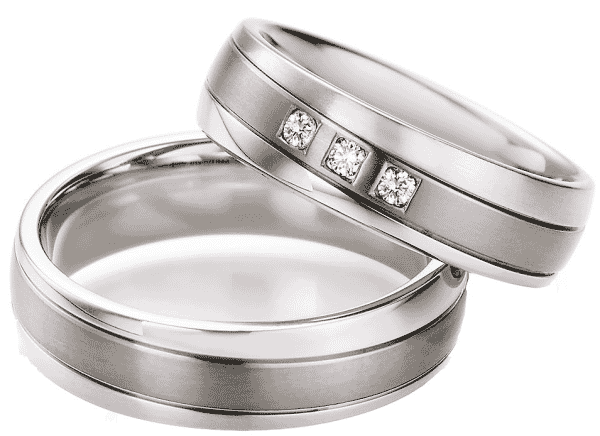 Hochzeitsringe Titanium ♂ Herrenring