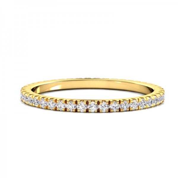 Memoire Ring a' 0,01 ct.