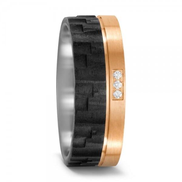 Bronze Carbon III ♀ Damenring