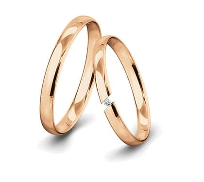 Spannringe-Rotgold-3mm-C-mit-Diamant-0015ct-poliert
