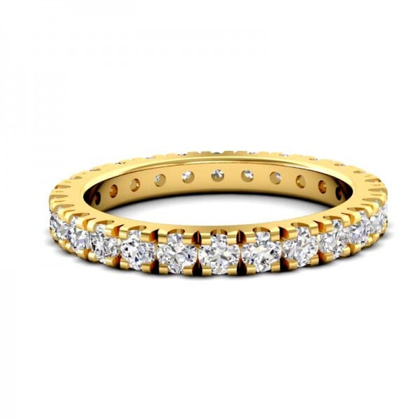 Memoire Ring a' 0,05 ct.