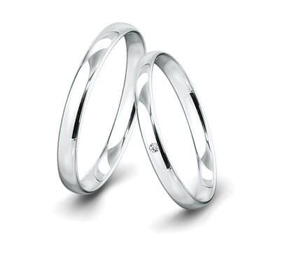Trauring-Weissgold-3mm-C-mit-diamant-002ct-poliert