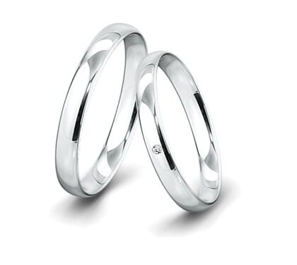 Trauring-Weissgold-3-5mm-C-mit-diamant-002ct-poliert