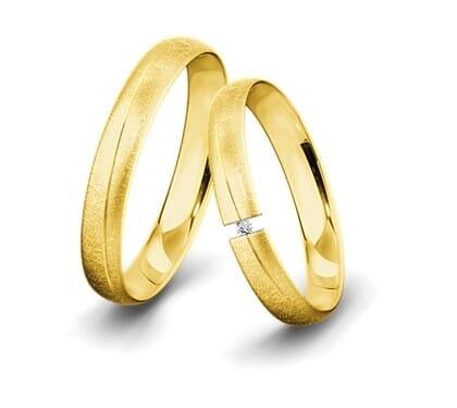 Spannringe-Gelbgold-4mm-C-mit-Diamant-0015ct-eismatt