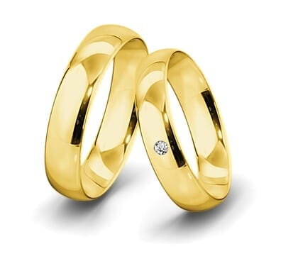 Trauring-Gelbgold-5-5mm-C-mit-diamant-003ct-poliert