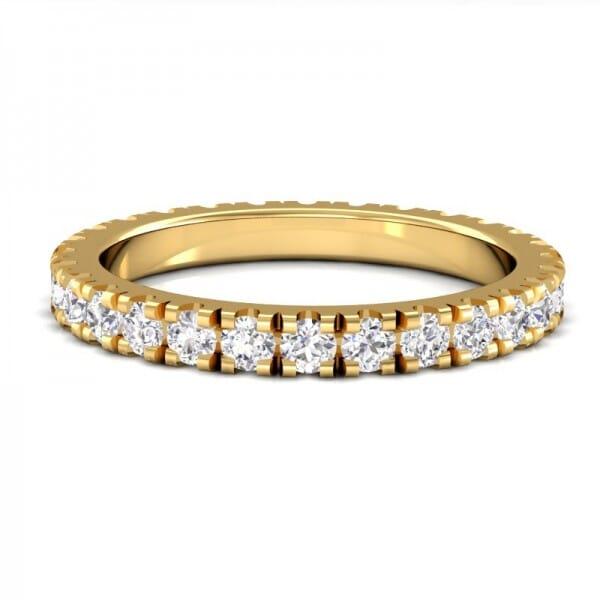 Memoire Ring a' 0,04 ct.