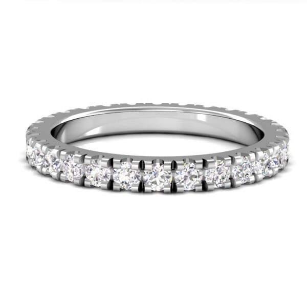 Memoire Ring a' 0,04 ct.