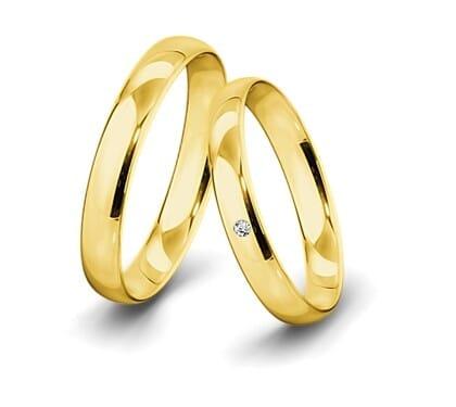 Trauringe-Gelbgold-4mm-C-mit-Diamant-0-015ct-poliert