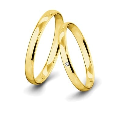 Trauring-Gelbgold-3mm-C-mit-diamant-002ct-poliert
