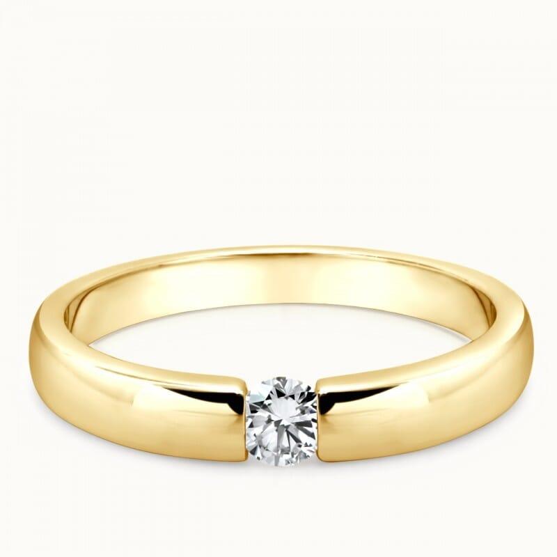 Verlobungsringe aus Gelbgold kaufen