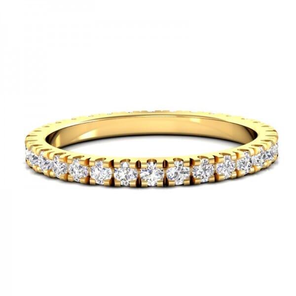 Memoire Ring a' 0,02 ct.