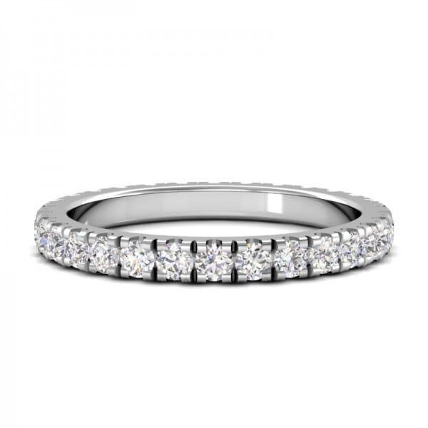 Memoire Ring a' 0,03 ct.