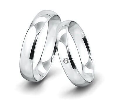 Trauring-Weissgold-5mm-C-mit-diamant-0025ct-poliert