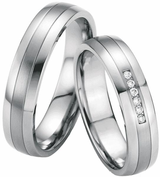 Hochzeitsringe Steel Evolution Belen