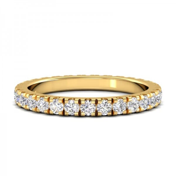 Memoire Ring a' 0,03 ct.